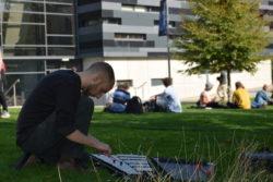 federico pozzer playing glockenspiel